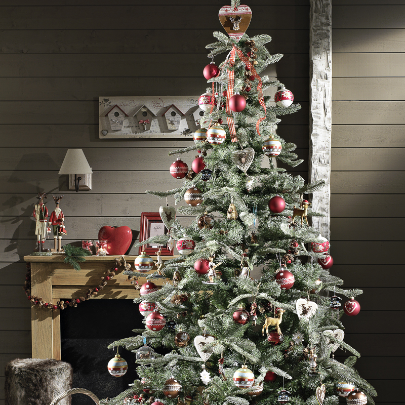 30 sapins de no l pour trouver son style d co un sapin de no l familial d co - Decoration de sapin de noel ...