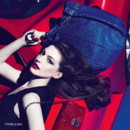 Anne hathaway pour Tod's Signature