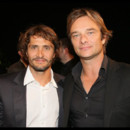 Photo : Bixente Lizarazu et David Hallyday