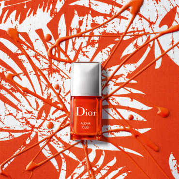 Mes ongles électriques, Vernis Dior Summer Look