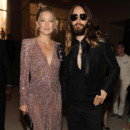 Look du jour : Kate Hudson et Jared Leto, duo sexy chic à Paris