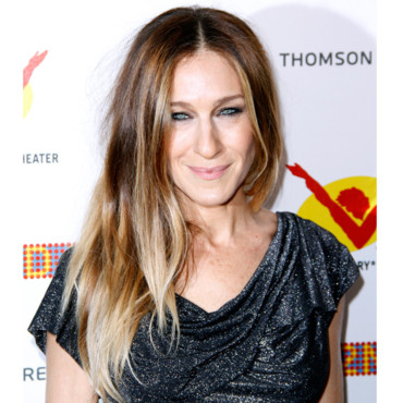 l 39 ombr hair lumineux de sarah jessica parker beaut. Black Bedroom Furniture Sets. Home Design Ideas