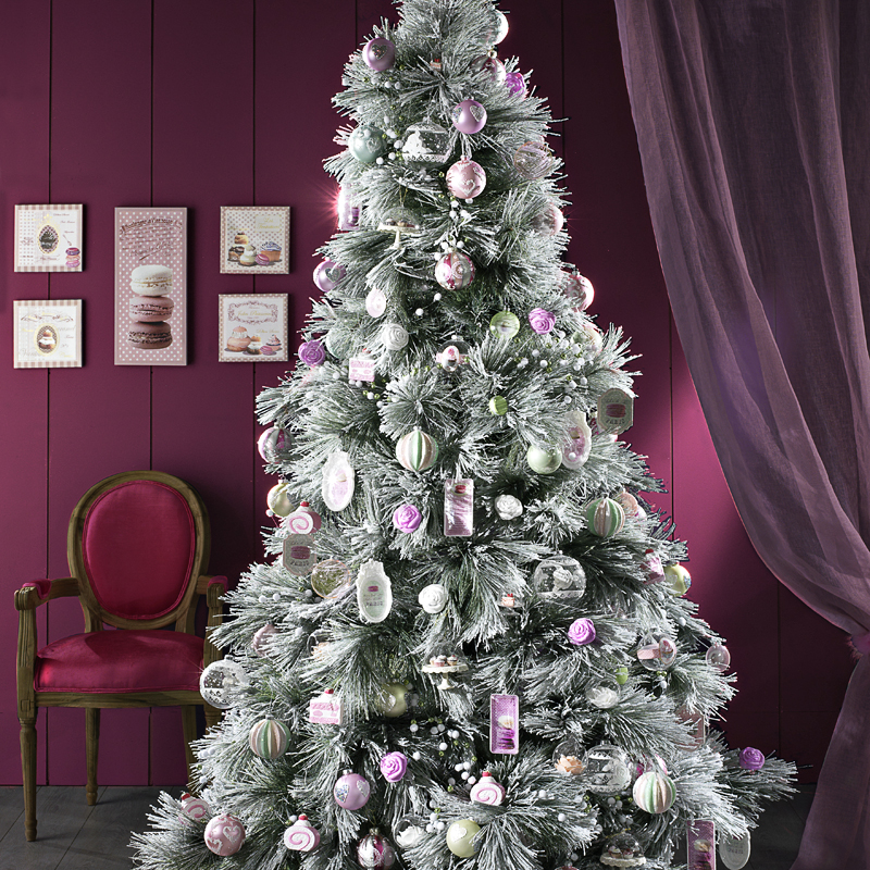 30 sapins de no l pour trouver son style d co un sapin de no l gourmand d co - Decoration de sapin de noel ...