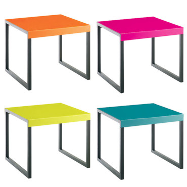 Sp cial glee une d co pop et flashy comme dans la s rie tables d 39 appoint kilo habitat - Table de jardin pop up mulhouse ...