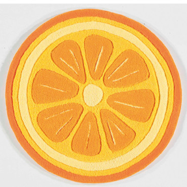 Tapis Arte espina Fruity kitch orange