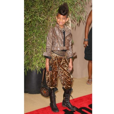 Willow Smith en total look panthère