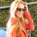 Lindsay Lohan redevient rousse mars 2012
