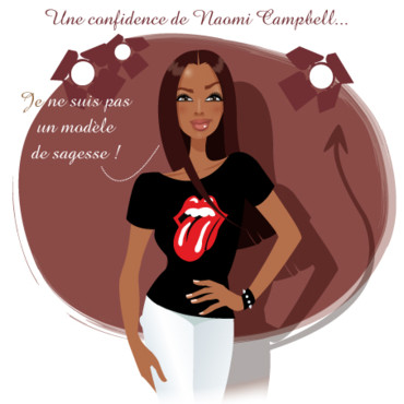 people : Naomi Campbell la rebelle !