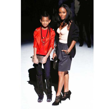 Willow Smith et sa maman à Milan pour la Fashion Week