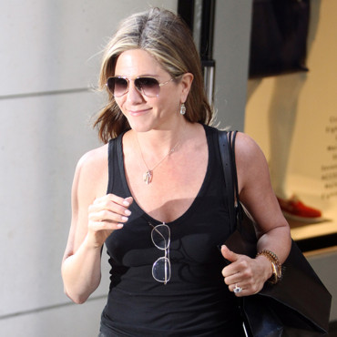 Jennifer Aniston à New York le 24 juin 2014
