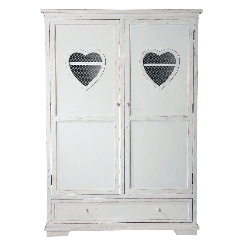 dressing 15 armoires pour un rangement de chambre canon armoire valentine maisons du monde. Black Bedroom Furniture Sets. Home Design Ideas