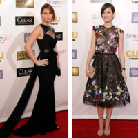 Marion Cotillard, Jennifer Lawrence... défilé de stars glamour pour les Critic's Choice Movie Awards