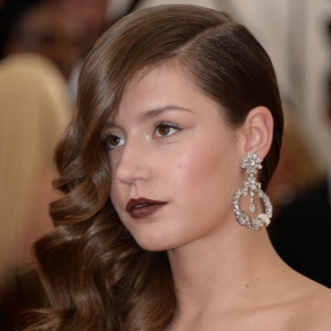 "Adèle Exarchopoulos au Met Gala 2014, pour l'ouverture de l'exposition ""Charles James : Beyond Fashion"", au ""Anna Wintour costume center"", à New York, lundi 5 mai 2014."
