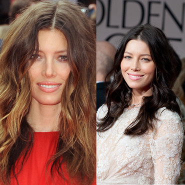 jessica biel brune blonde - Coloration Brune A Blonde