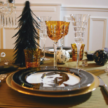 La table Noël chic de Philippe Garcia