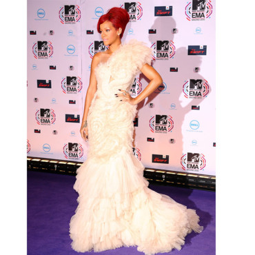 MTV European Awards Rihanna en Marchesa