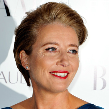 Emma Thompson en 2010 à Londres pour le Harper Bazaar Women Awards.