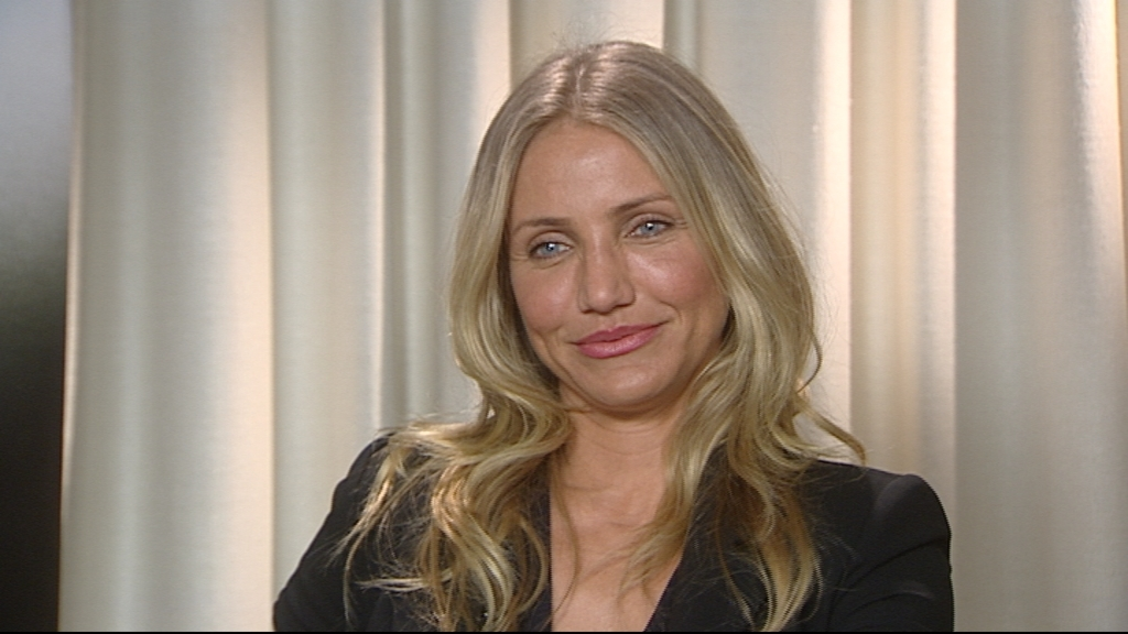 vid o d couvrez l 39 interview de cameron diaz dans automoto actu people. Black Bedroom Furniture Sets. Home Design Ideas