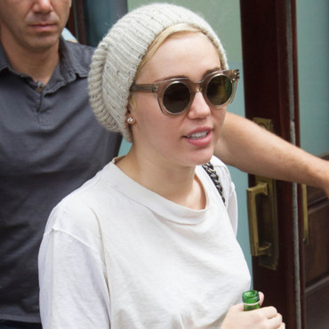 Miley Cyrus à New York le 6 août 2014