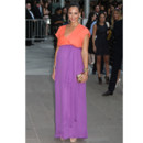 Jessica Alba enceinte en color block aux CFDA Awards