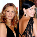 match beauté Julia Roberts Charlize Theron coloration
