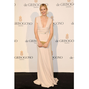 Kelly Rutherford en Elie Saab-Cannes 2012