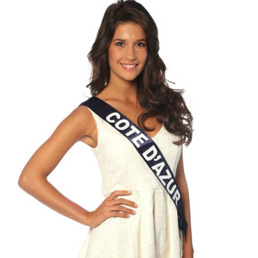 Miss Cote d'Azur à l'élection de Miss France 2014
