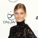 Looks beautés Fashion Week Milan Gala Amfar Constance Jablonski
