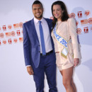 Miss France 2013 pose avec Jo-Wilfried Tsonga pour Roland Garros