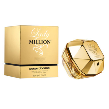 Lady Million Absolutely Gold, Paco Rabanne
