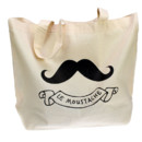 shopping bag en coton Bons Baisers de Paris