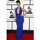 Alicia Keys en Armani Privé aux Grammy Awards 2014 à Los Angeles le 26 janvier
