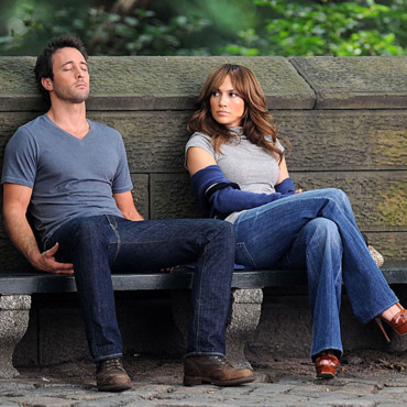 Alex O'Loughlin et Jennifer Lopez