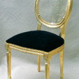 Chaise Lisaura Lady Or
