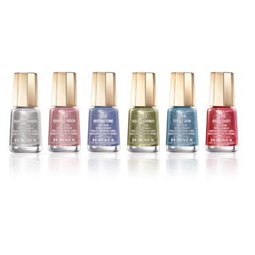 Mini-vernis JEWEL Collection signée MAVALA