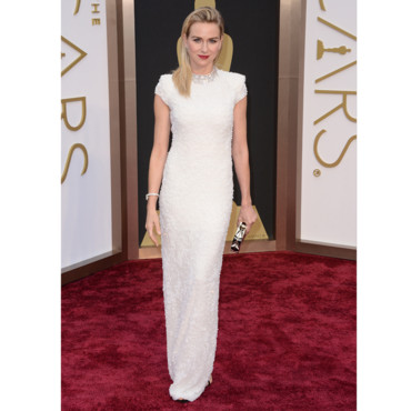 Naomi Watts en Calvin Klein Collection aux Oscars 2014 le 2 mars à Los Angeles