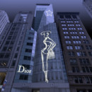 Devanture boutique Dior de New-York