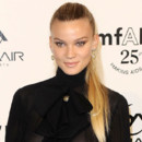 Looks beautés Fashion Week Milan Gala Amfar Fiammetta Cicogna