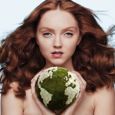 Lily Cole pour The Body Shop Beauty with Heart