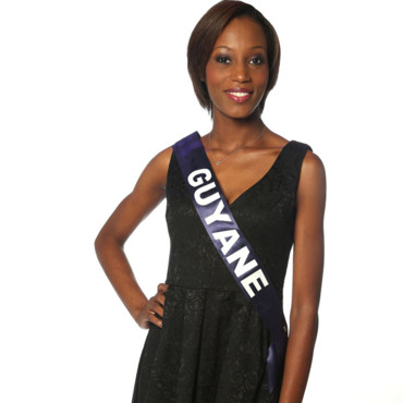 Miss Guyane à l'élection de Miss France 2014