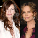 match beauté Julia Roberts Charlize Theron coloration naturelle ou presque