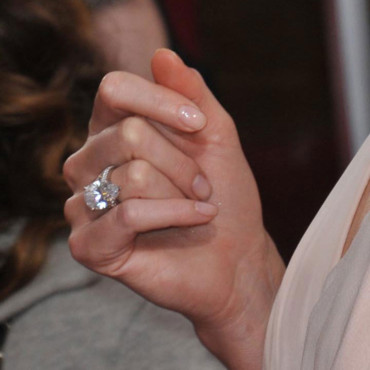 La bague de Charlize Theron