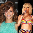 Rihanna blonde brune
