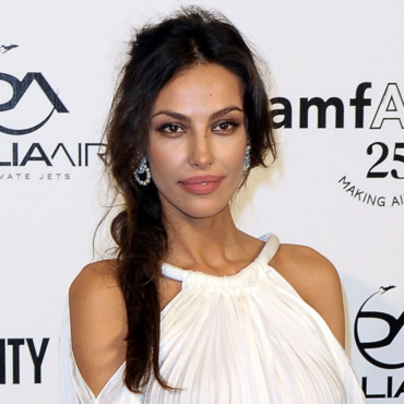 Looks beautés Fashion Week Milan Gala Amfar Madalina Ghenea