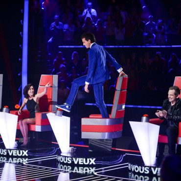 Mika, sur le plateau de The Voice 3