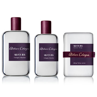 Gamme Silver Iris, Atelier Cologne