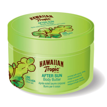 Hawaiian Tropic : beurre pour le corps au citron Coolada