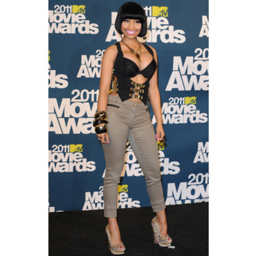 Nicki Minaj MTV Movie Awards 2011