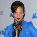 Alicia Keys et sa coupe courte  la soire Jingle Ball Kiis FM