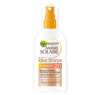 Spray ideal bronze indice 20 Garnier